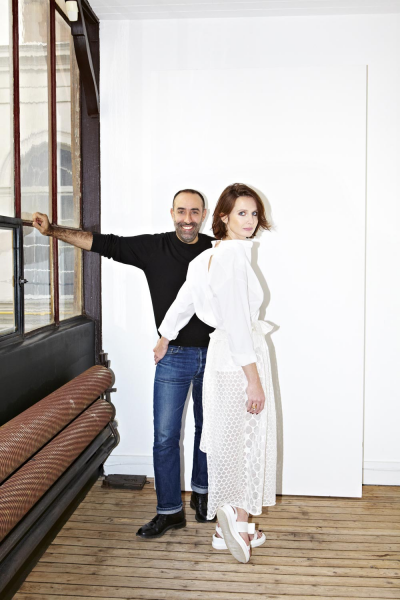 W Magazine - Rabih & Constance by Hugues Laurent